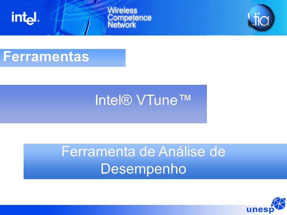 Ferramentas Intel® VTune™ Ferramenta de Análise de Desempenho