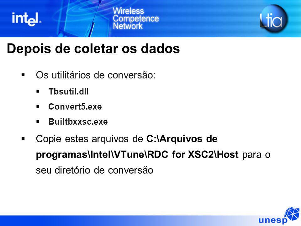 Depois de coletar os dados  Os utilitários de conversão:  Tbsutil.dll  Convert5.exe  Builtbxxsc.exe  Copie estes arquivos de C:\Arquivos de progr