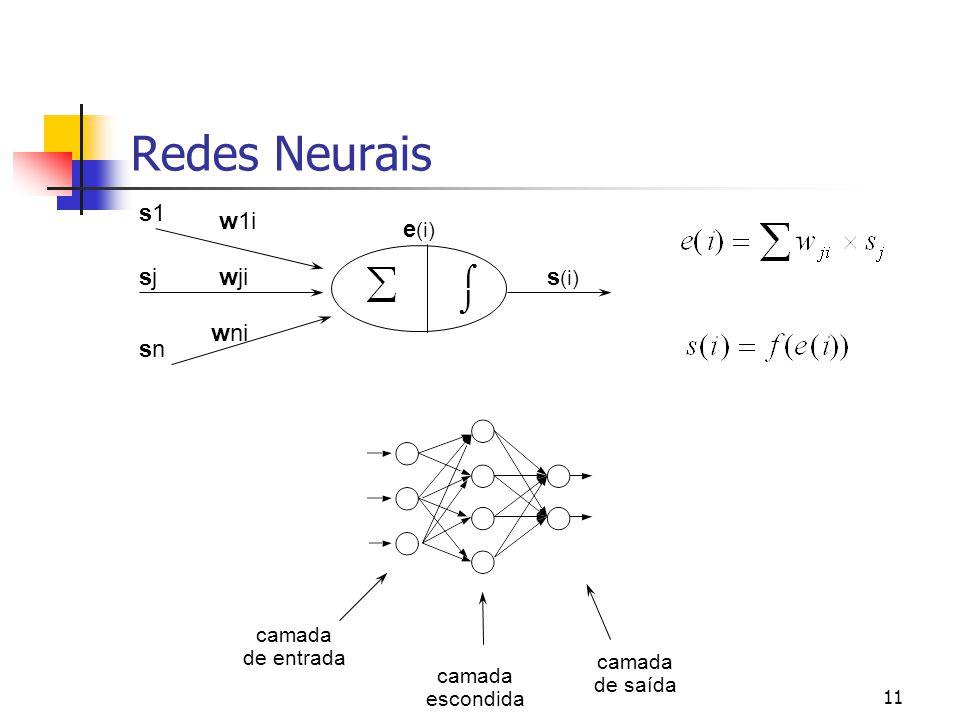 """10 Paradigma Conexionista: Redes Neurais Definição """"Romântica"""": Técnica inspirada no funcionamento do cérebro, em que neurônios artificiais, conectado"""