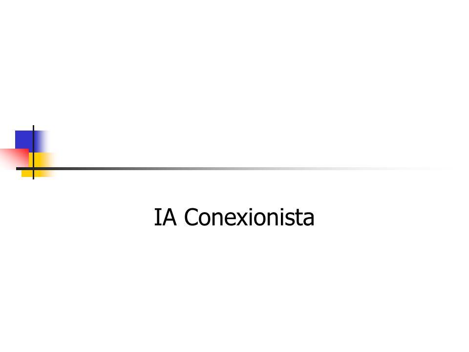 8 IA Simbólica: Resumo Características principais Inspirada na lógica, semiologia, lingüística e psicologia cognitiva (funcionalista) Representação do