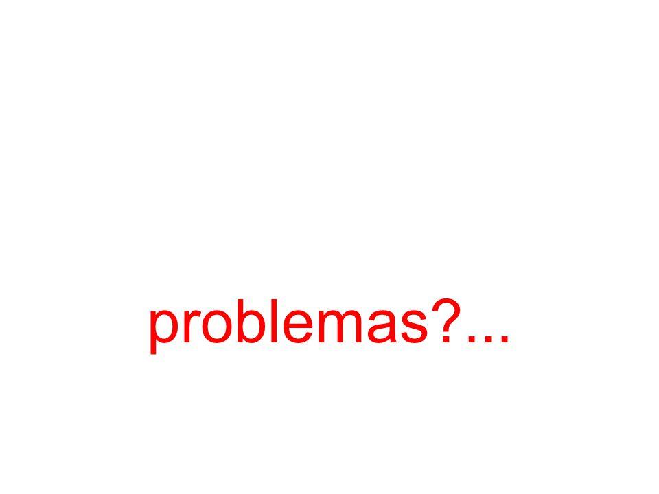 problemas ...