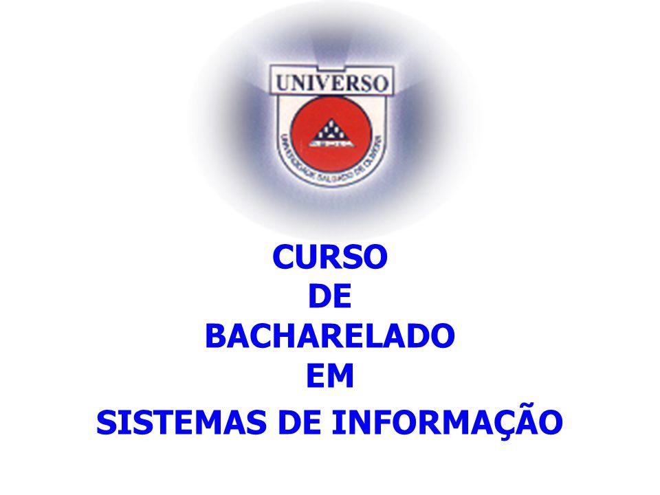CURSO DE BACHARELADO EM SISTEMAS DE INFORMAÇÃO