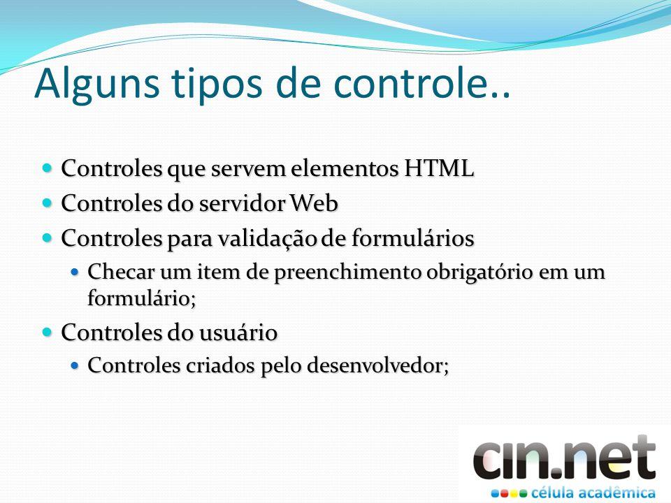 Exemplos de controles do ASP.NET Renderiza o HTML de acordo com o agente do cliente Renderiza o HTML de acordo com o agente do cliente