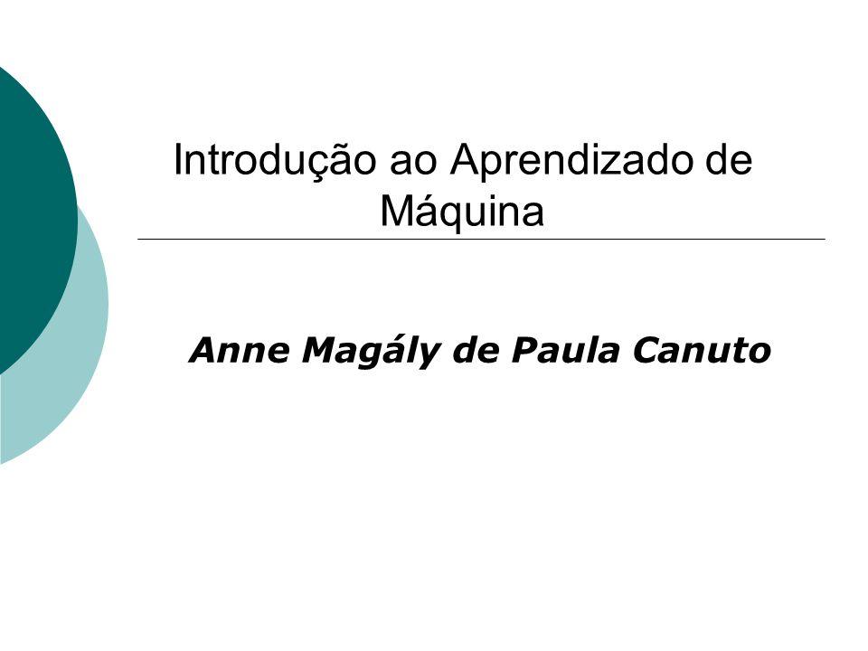 Introdução ao Aprendizado de Máquina Anne Magály de Paula Canuto