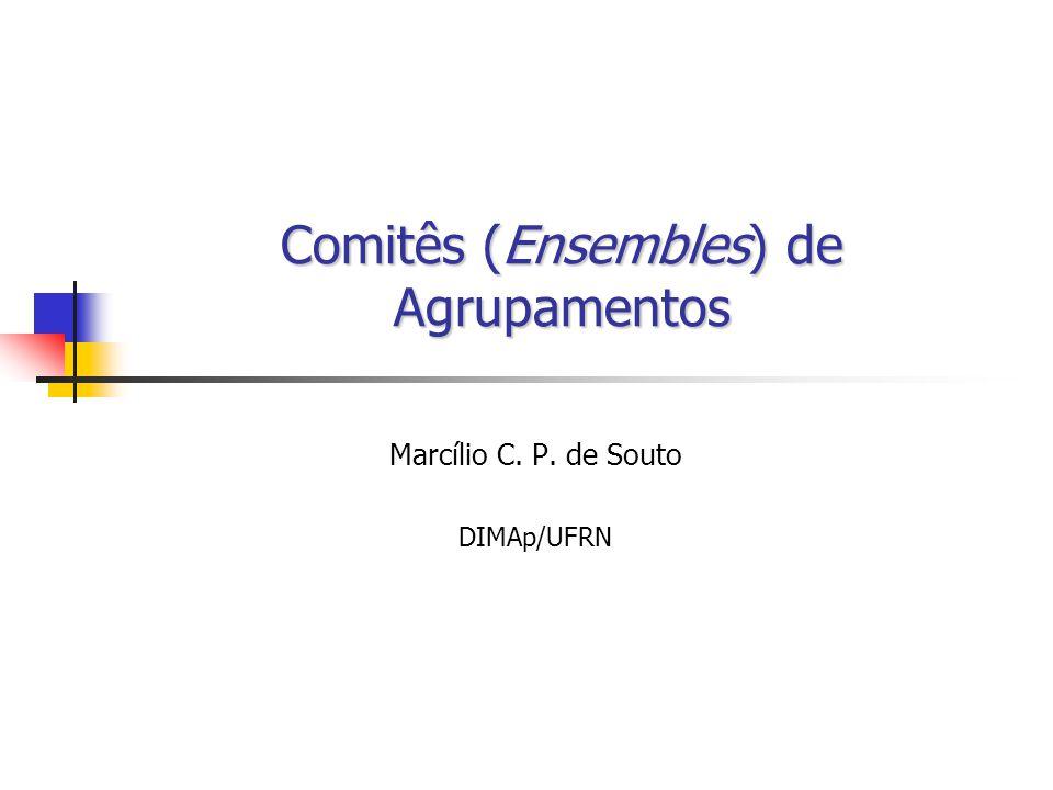 Comitês (Ensembles) de Agrupamentos Marcílio C. P. de Souto DIMAp/UFRN
