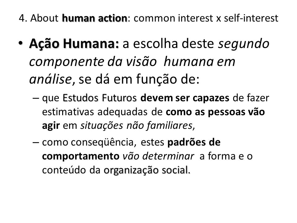 human action 4.