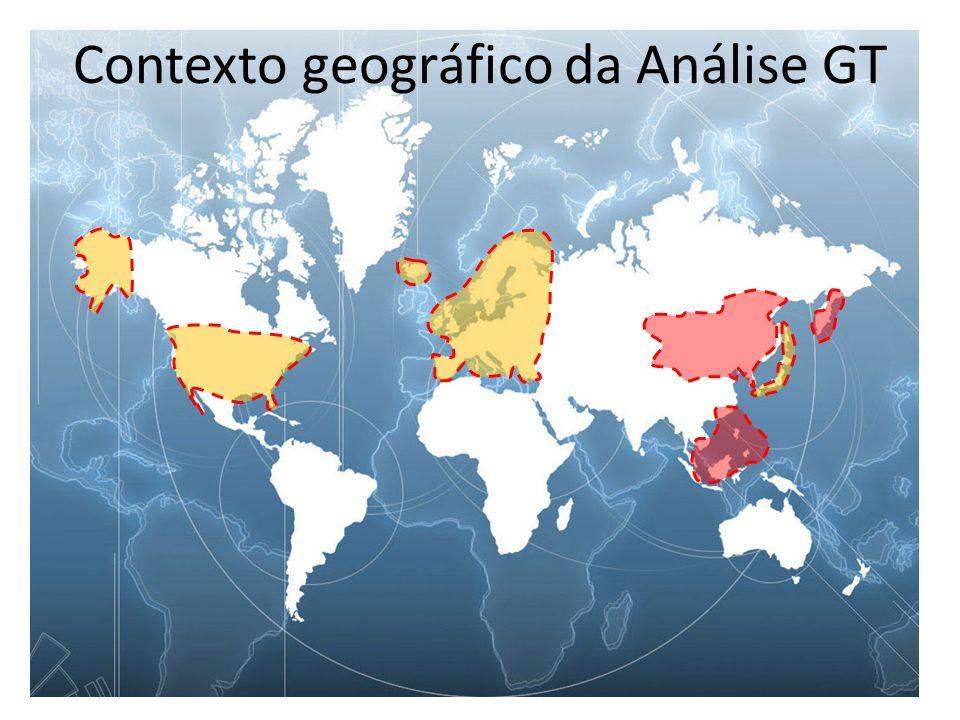 Contexto geográfico da Análise GT