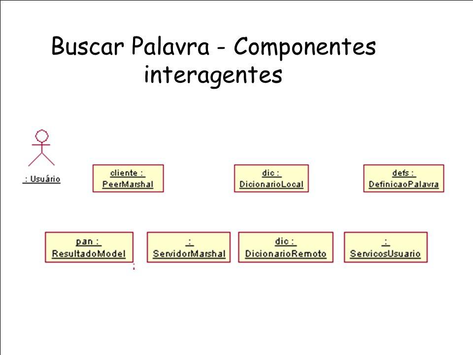 Buscar Palavra - Componentes interagentes