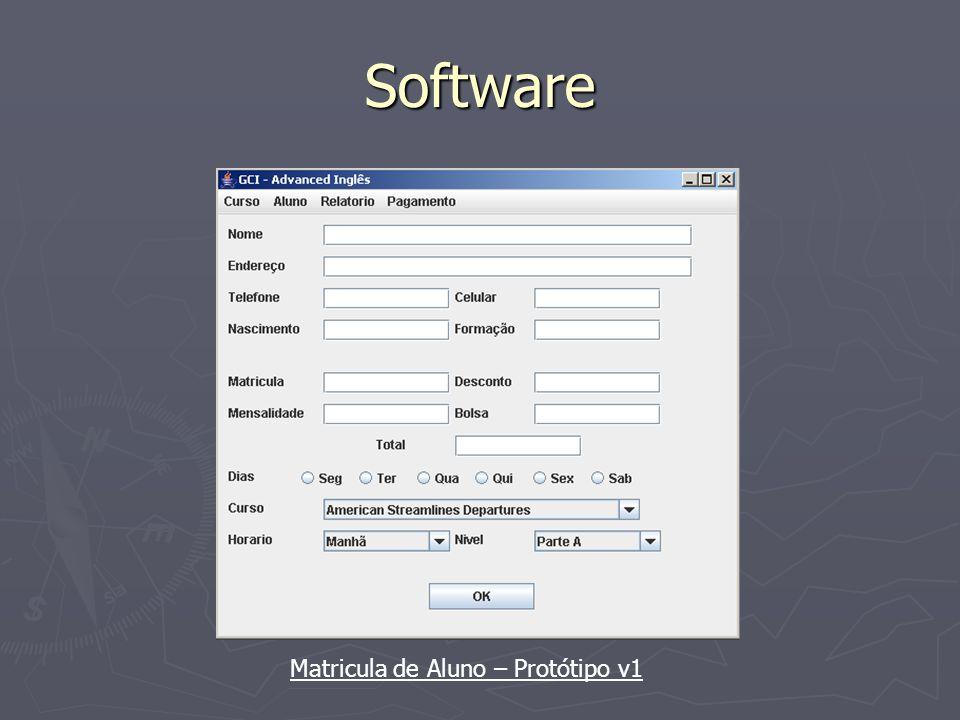 Software Pendências de Aluno – Protótipo v1