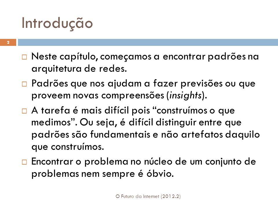 Arquitetura de Cinco Camadas (1974) O Futuro da Internet (2012.2) 13 1.