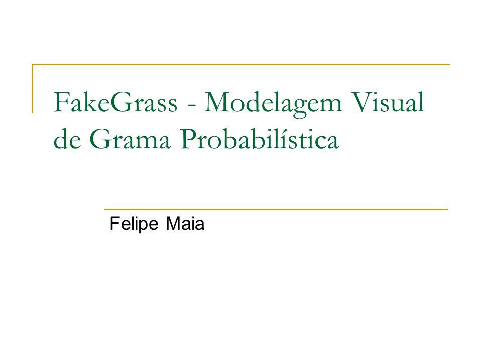 FakeGrass - Modelagem Visual de Grama Probabilística Felipe Maia