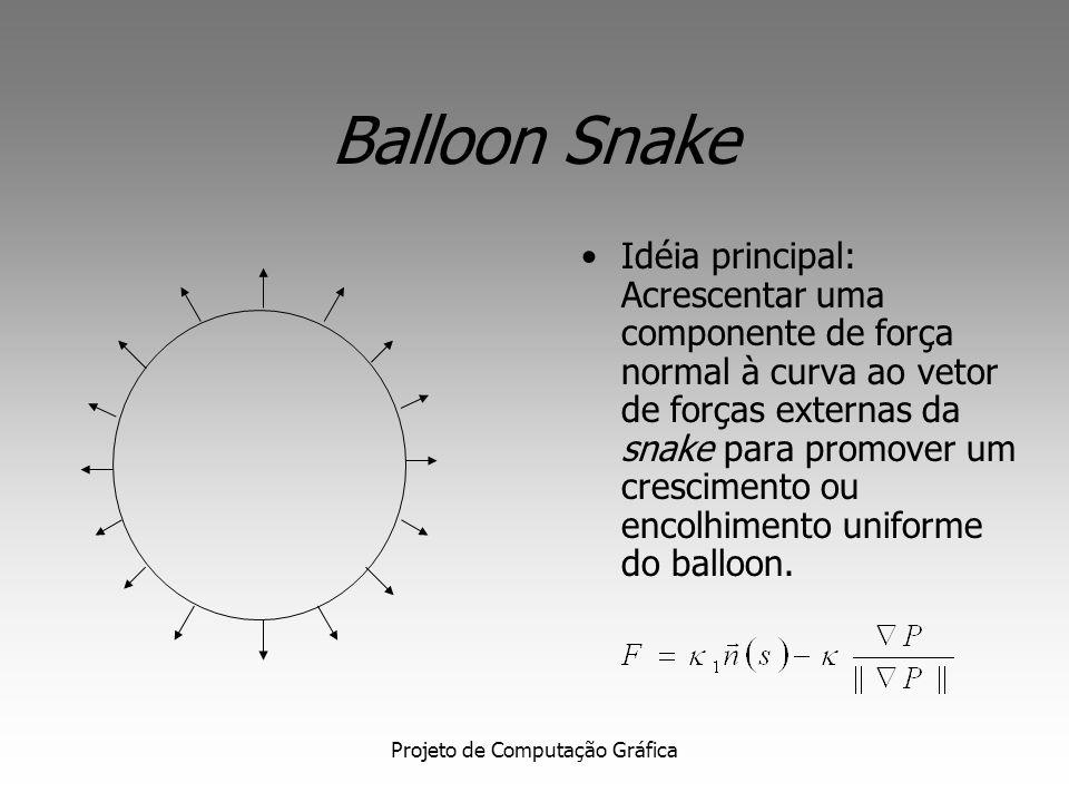 Projeto de Computação Gráfica Balloon Snake