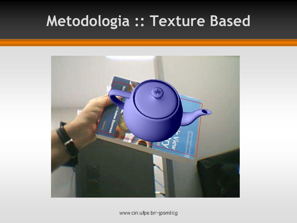 Metodologia :: Texture Based www.cin.ufpe.br/~jpsml/cg