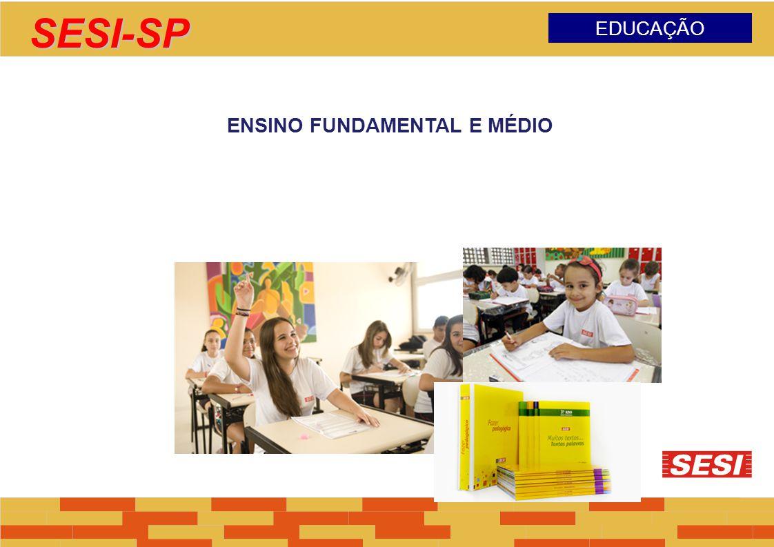 SESI-SP EDUCAÇÃO ENSINO FUNDAMENTAL E MÉDIO