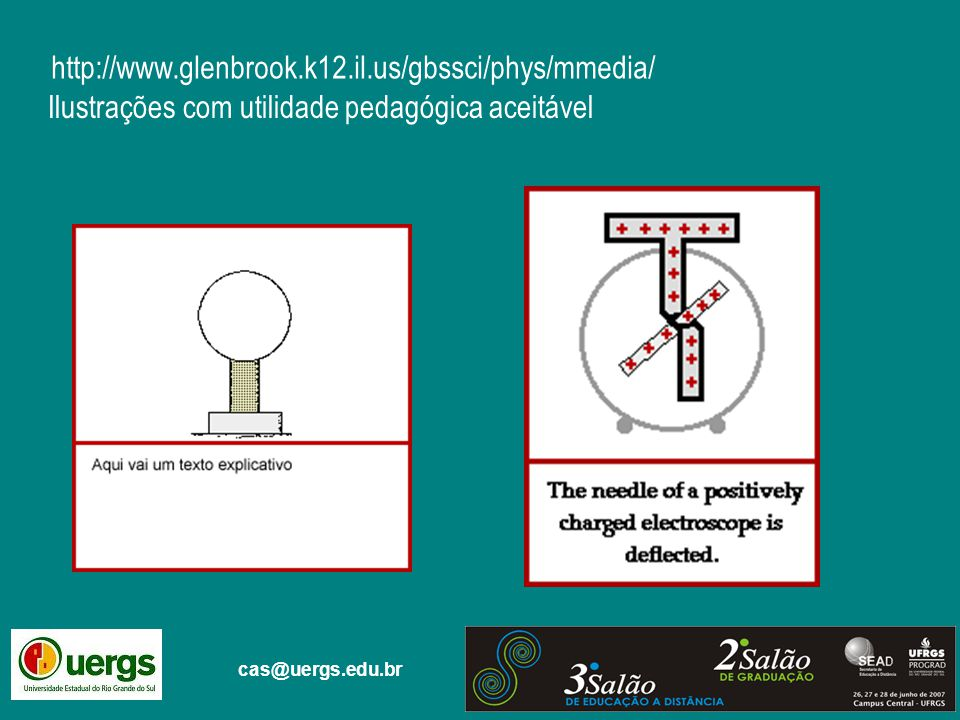 cas@uergs.edu.br http://www.glenbrook.k12.il.us/gbssci/phys/mmedia/ Ilustrações com utilidade pedagógica aceitável