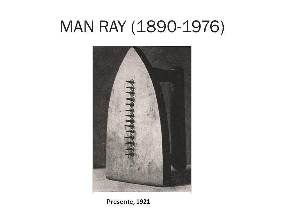 MAN RAY (1890-1976) Presente, 1921