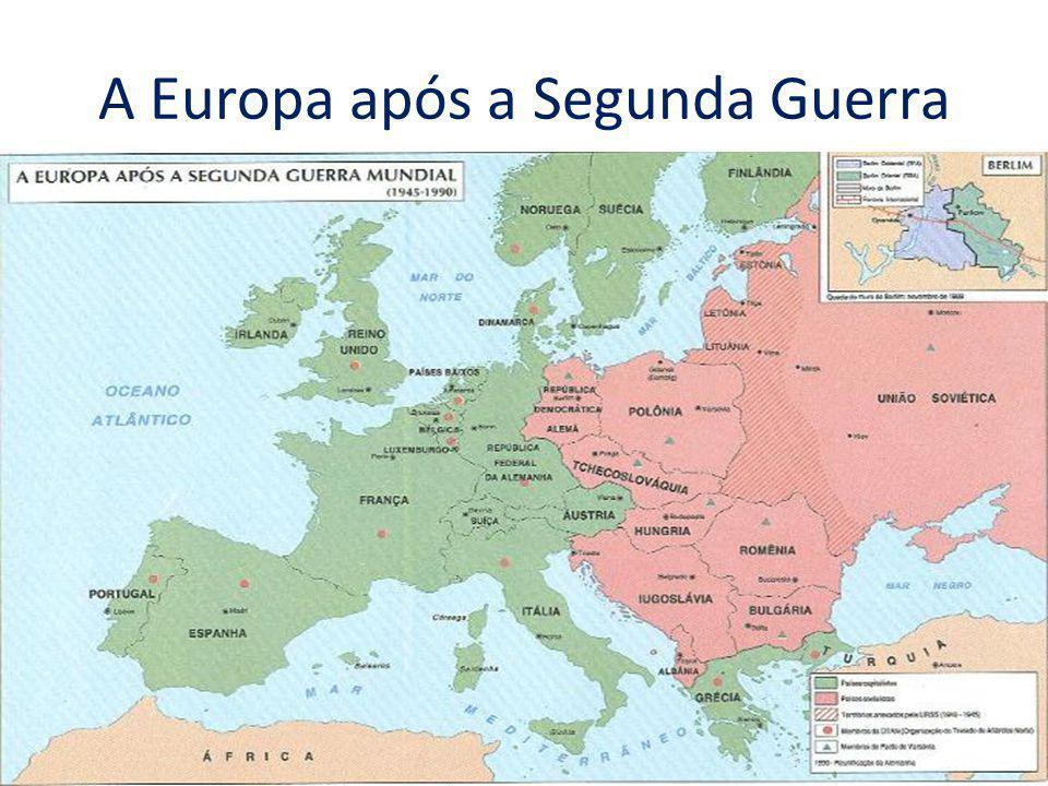 A Europa após a Segunda Guerra