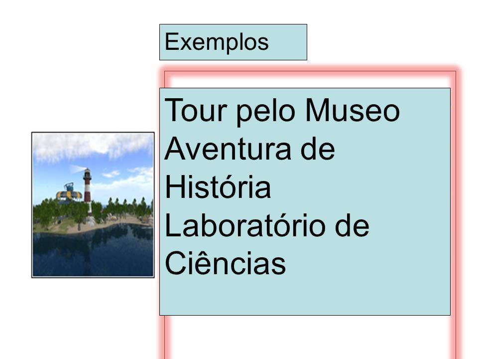 Exemplos Tour pelo Museo Aventura de História Laboratório de Ciências