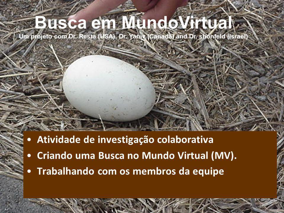 Busca em MundoVirtual Um projeto com Dr. Resta (USA), Dr.