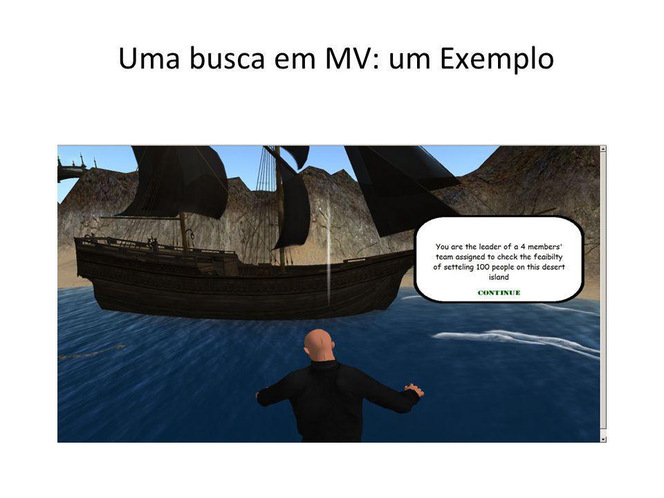 Uma busca em MV: um Exemplo