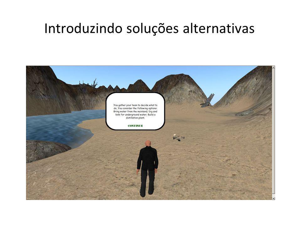 Introduzindo soluções alternativas
