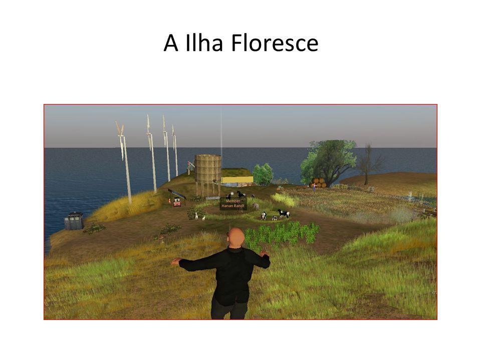 A Ilha Floresce