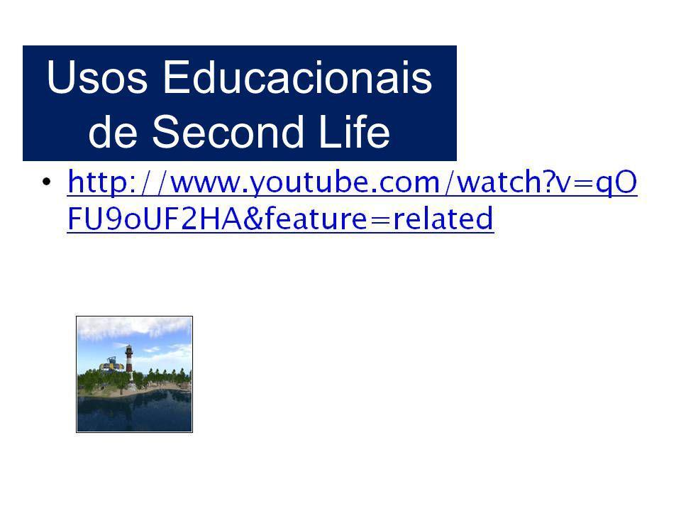 Usos Educacionais de Second Life