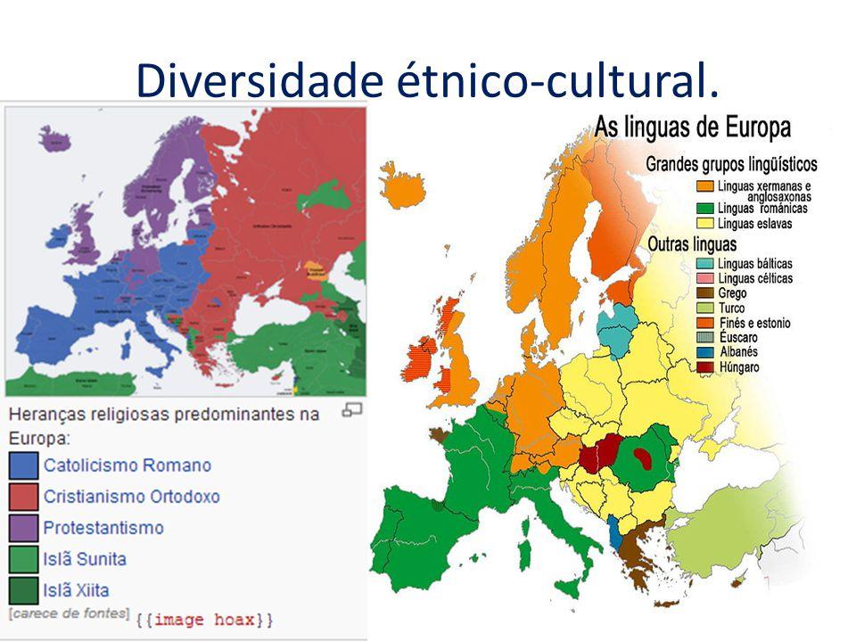 Diversidade étnico-cultural.