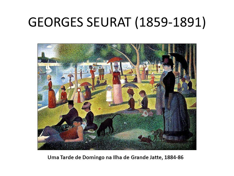 GEORGES SEURAT (1859-1891) Uma Tarde de Domingo na Ilha de Grande Jatte, 1884-86
