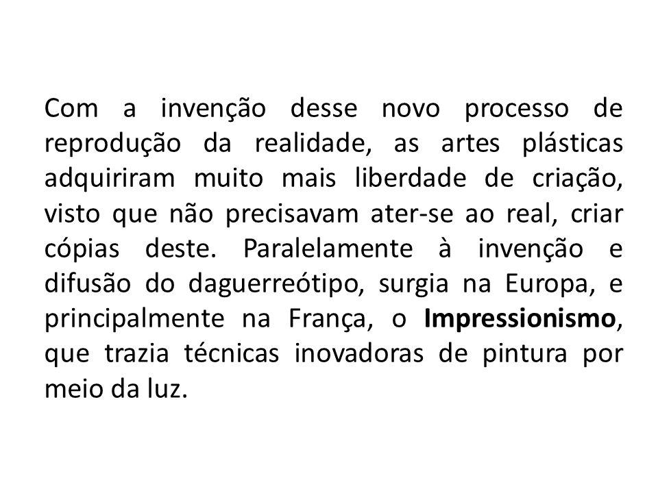 IMPRESSIONISMO Foi um movimento artístico que surgiu na pintura francesa do século XIX.
