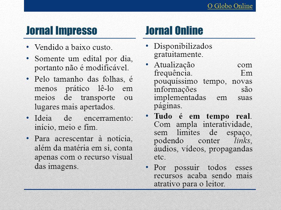 Jornal Impresso Disponibilizados gratuitamente. Atualização com frequência. Em pouquíssimo tempo, novas informações são implementadas em suas páginas.
