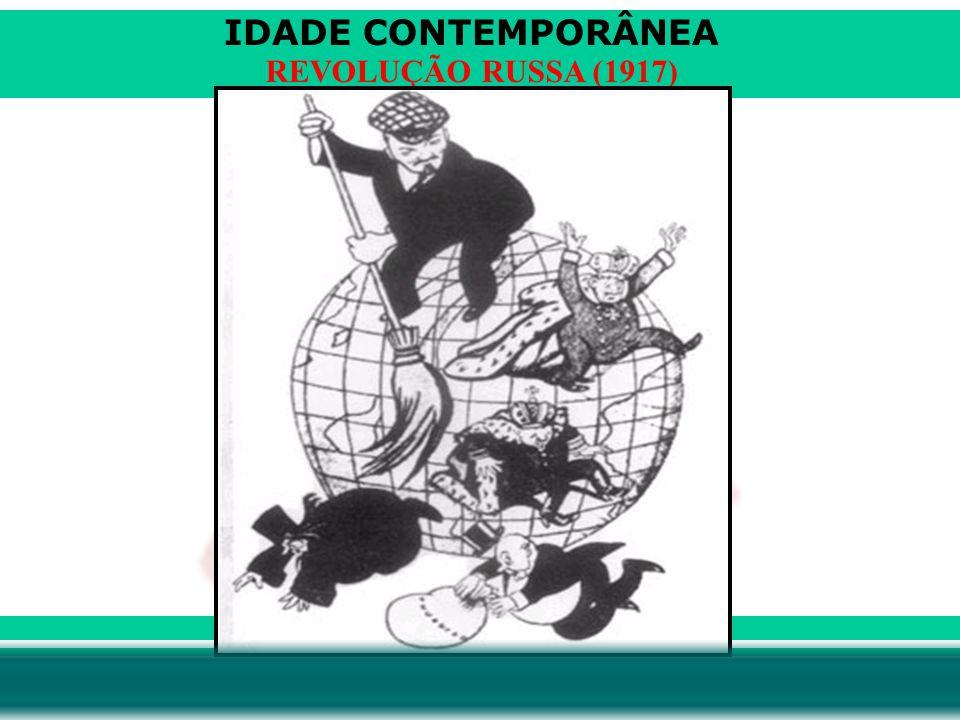 IDADE CONTEMPORÂNEA Prof. Iair iair@pop.com.br REVOLUÇÃO RUSSA (1917)