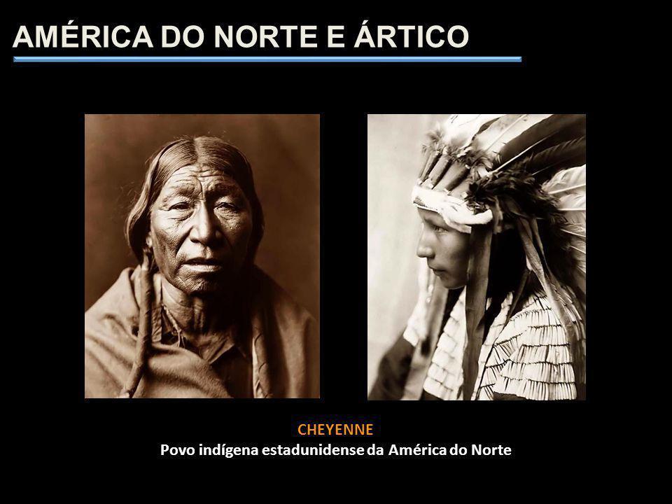 CHEYENNE Povo indígena estadunidense da América do Norte AMÉRICA DO NORTE E ÁRTICO