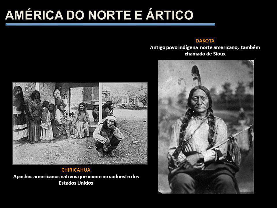 CHIRICAHUA Apaches americanos nativos que vivem no sudoeste dos Estados Unidos AMÉRICA DO NORTE E ÁRTICO DAKOTA Antigo povo indígena norte americano,