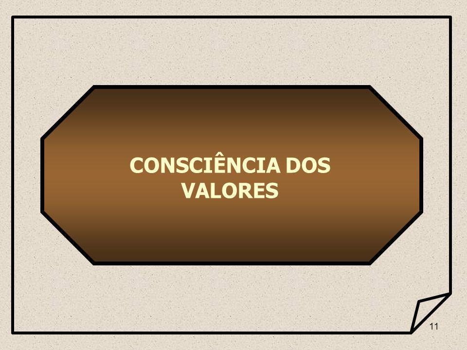 11 CONSCIÊNCIA DOS VALORES