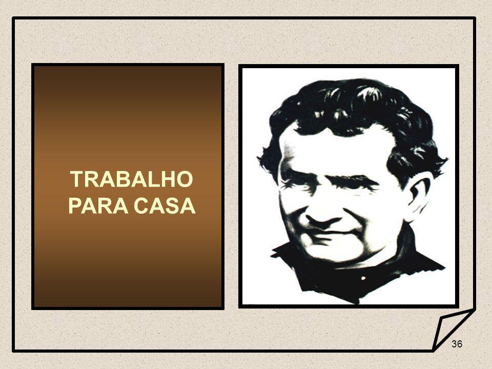 36 TRABALHO PARA CASA