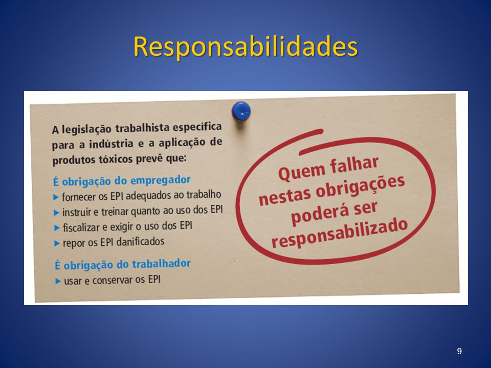 Responsabilidades 9
