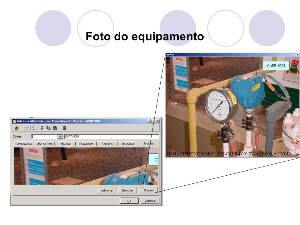 Foto do equipamento