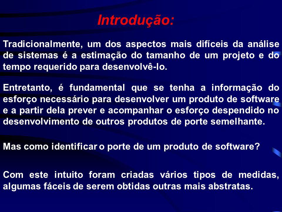 Trabalho Final de Fundamentos da Engenharia de Software Métrica de Pontos de Função André Costa de Jesus & Helena Prudente Bartholo
