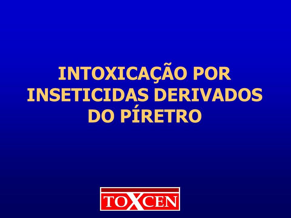 INTOXICAÇÃO POR INSETICIDAS DERIVADOS DO PÍRETRO