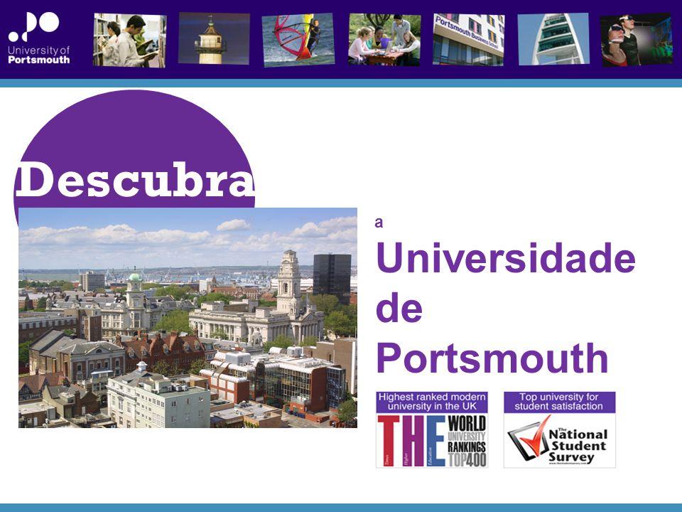 Descubra a Universidade de Portsmouth