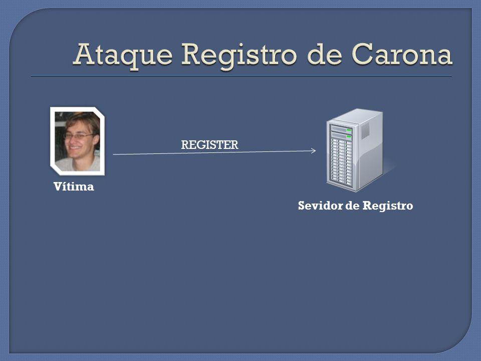 Vítima Sevidor de Registro REGISTER