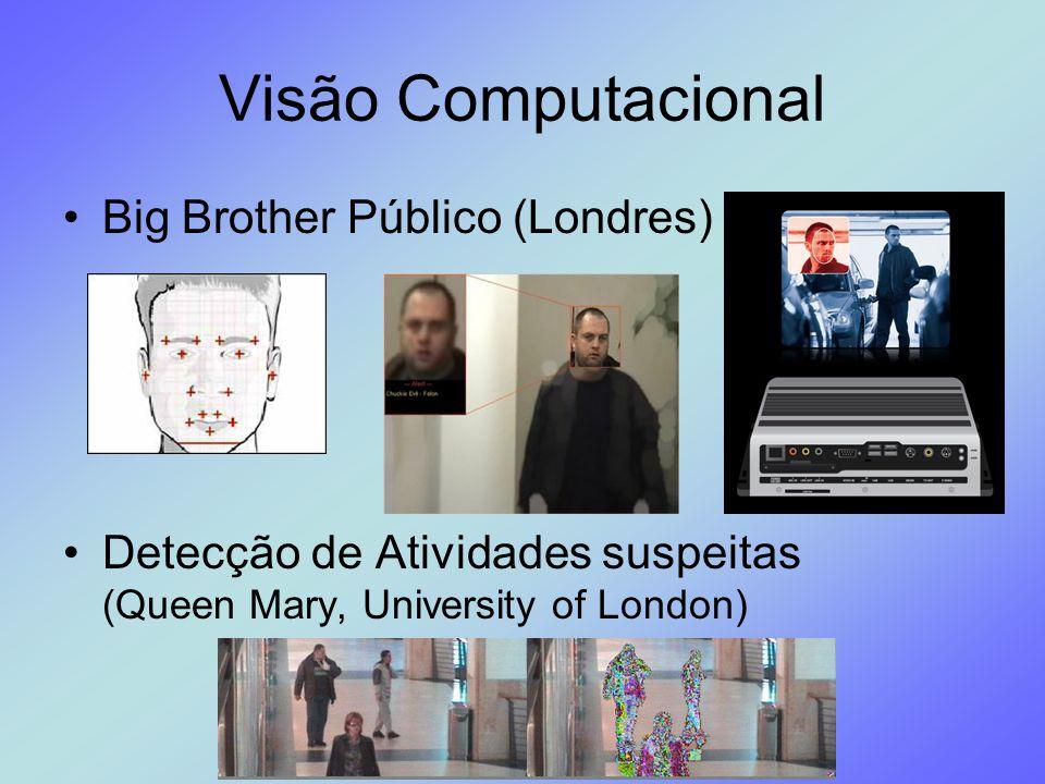 Visão Computacional Big Brother Público (Londres) Detecção de Atividades suspeitas (Queen Mary, University of London)