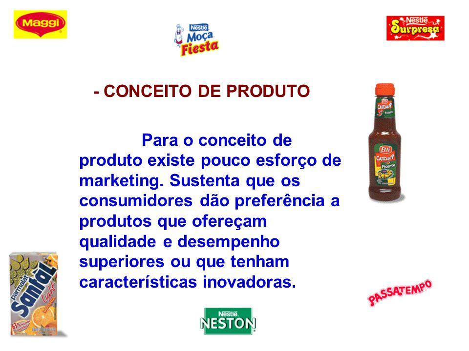 - CONCEITO DE VENDA É a orientação da administração que pressupõe que os consumidores normalmente não comprarão o suficiente dos produtos da empresa, a não ser que sejam abordados por um esforço substancial de venda e promoção.