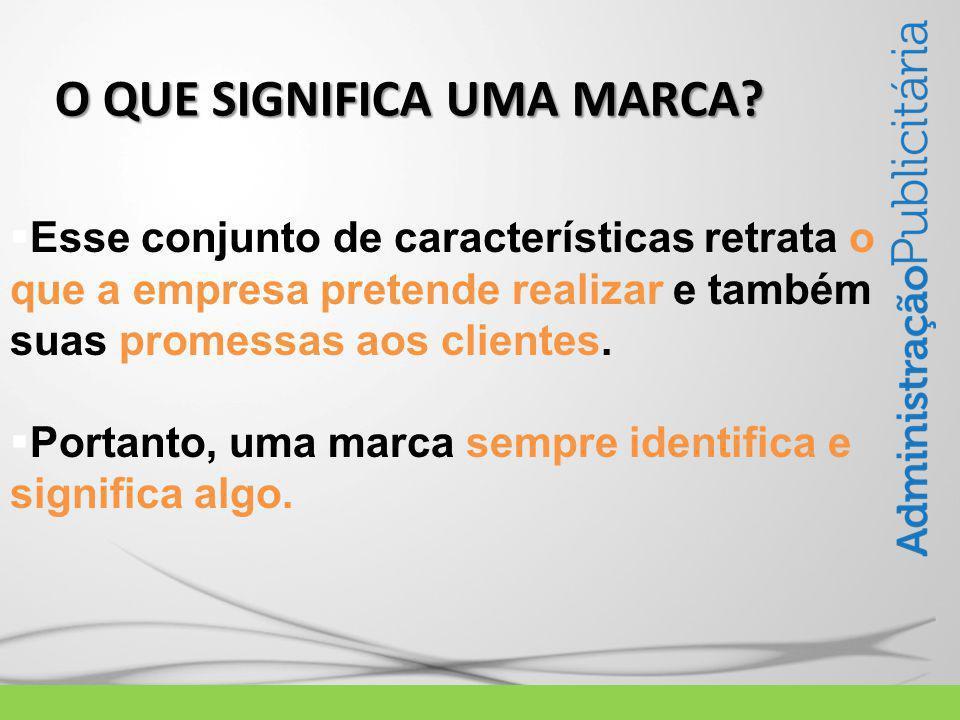  Esse conjunto de características retrata o que a empresa pretende realizar e também suas promessas aos clientes.