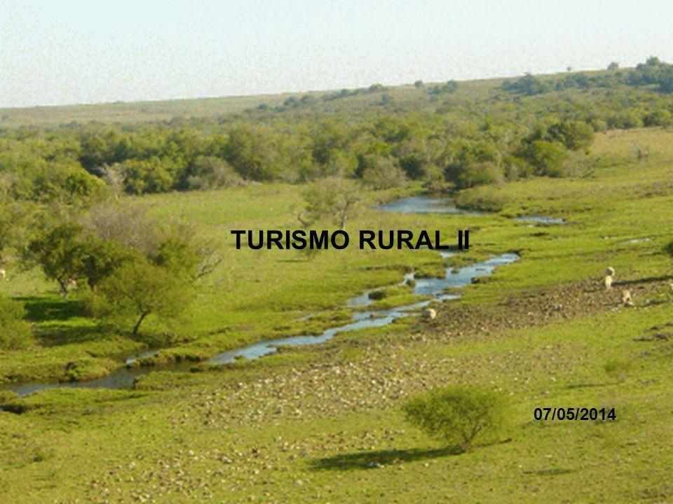 TURISMO RURAL II 07/05/2014