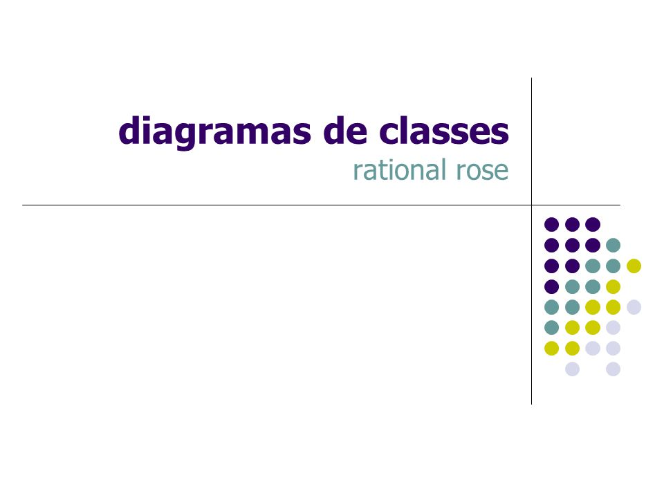diagramas de classes rational rose