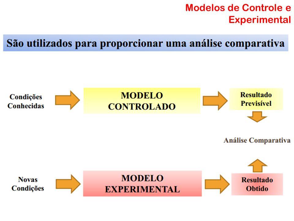 Modelo Matemático Modelos de Controle e Experimental