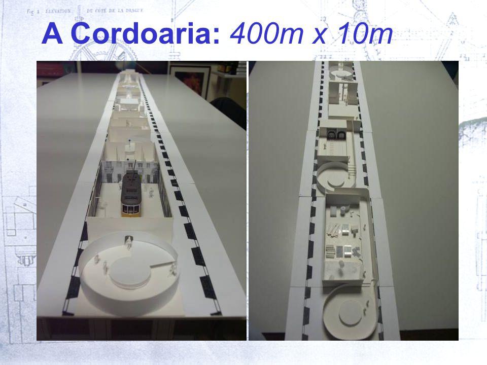 A Cordoaria: 400m x 10m