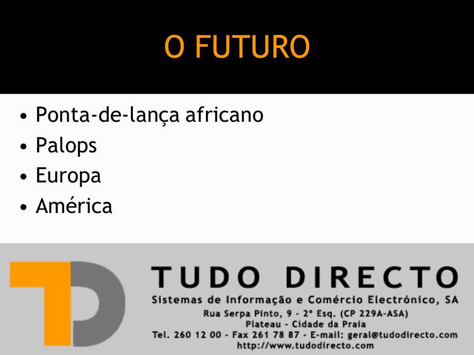 Ponta-de-lança africano Palops Europa América O FUTURO